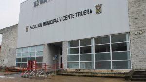 """TORRELAVEGA.- En el Polidep. """"Vicente Trueba"""" @ Polideportivo """"Vicente Trueba"""""""