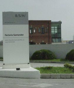 BSH Electrodomésticos. Santander (BUS) @ BSH Electrodomésticos. Santander
